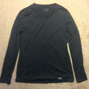 Black Thick Under Armor Long Sleeve